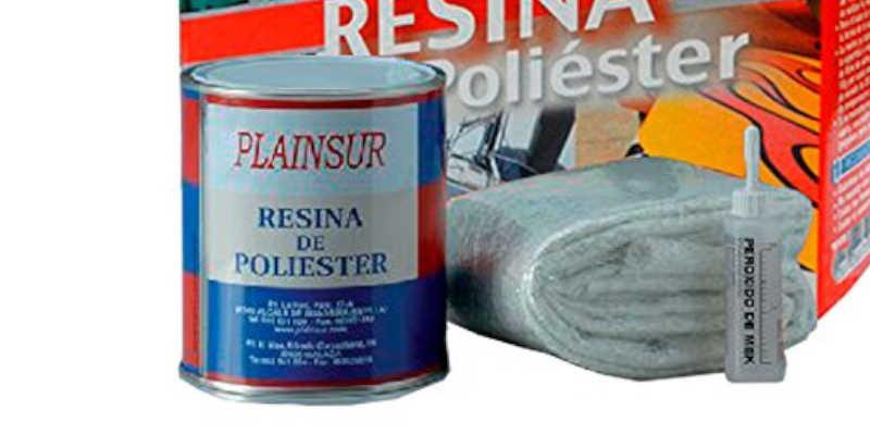 Kit de resina de poliéster Plainsur 250 gramos barata baratas precio comprar barato baratos oferta ofertas
